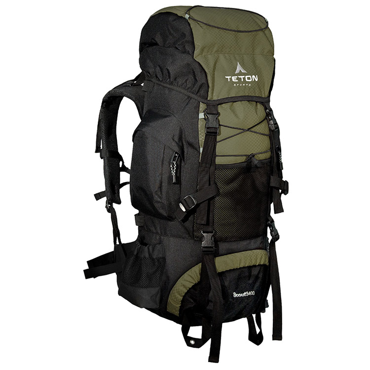 Teton Sports Scout 3400 Review – Why we think it's a great internal frame backpack for weekend hikes