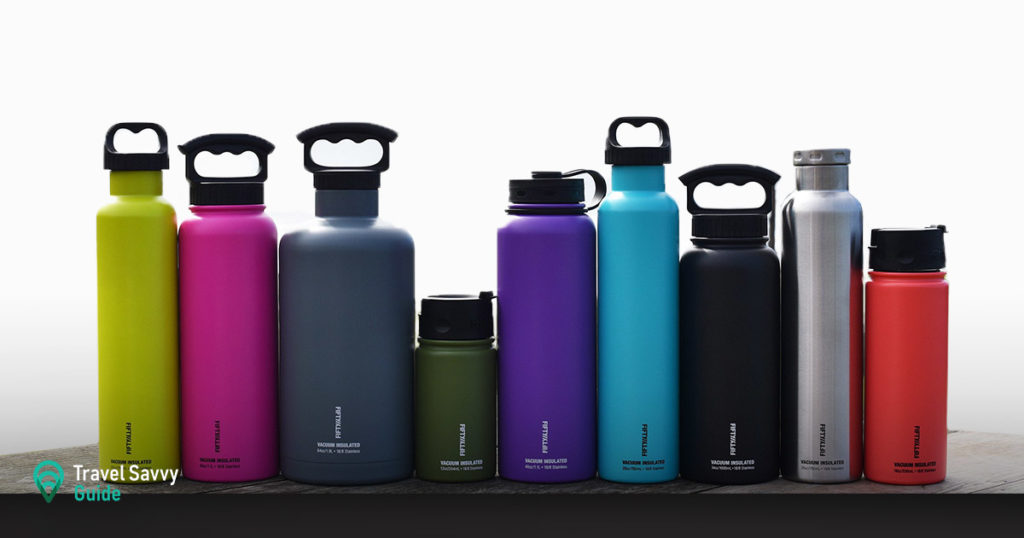 Fifty Fifty water bottles