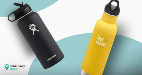 Hydro Flask vs Klean kanteen flask