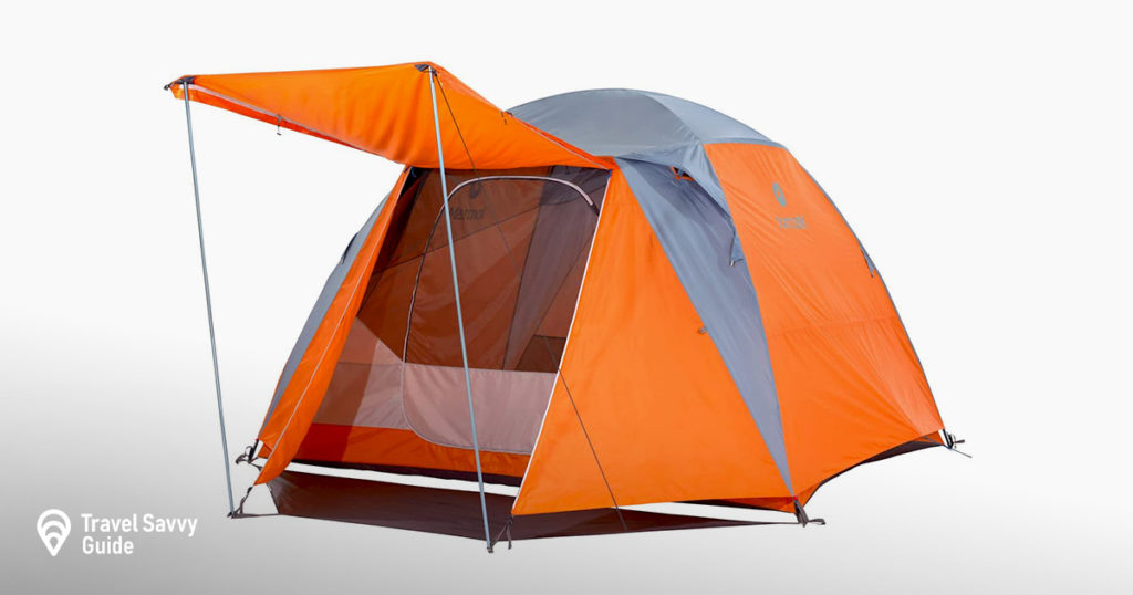 Marmot Limestone Camping Tent - Durable, seam-taped polyester