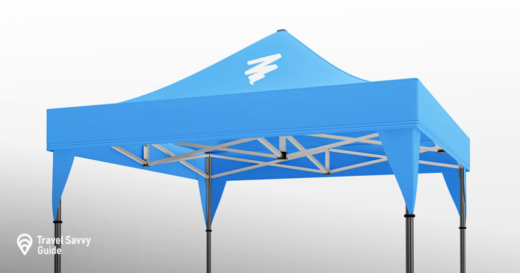 Display tent example
