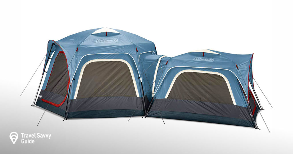 Coleman 3-Person and 6-Person Connectable Tent Bundle