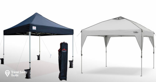 2 Canopy tents for vendors