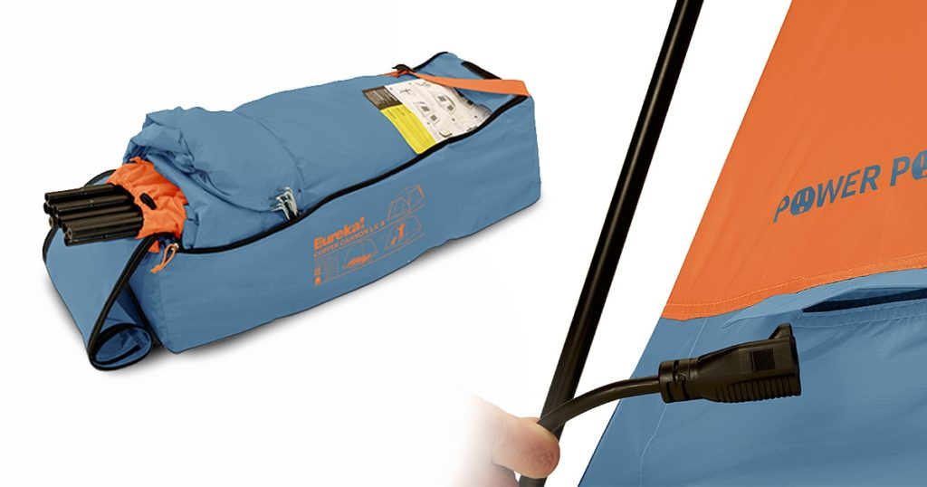 Eureka! Copper Canyon 4-Person Tent - Gear Bag and Power Port