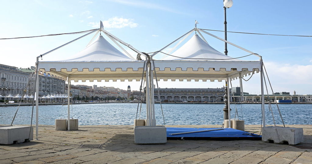 White Canopy Tent for Party and Exibition Event