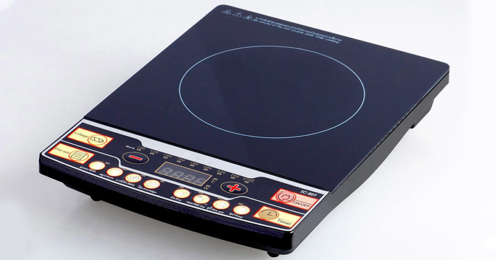 portable digital induction stove for indoor and outdoor use