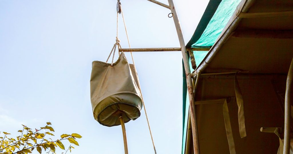 Water Bag for Outdoor Shower