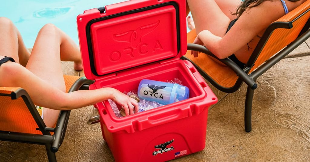ORCA red cooler