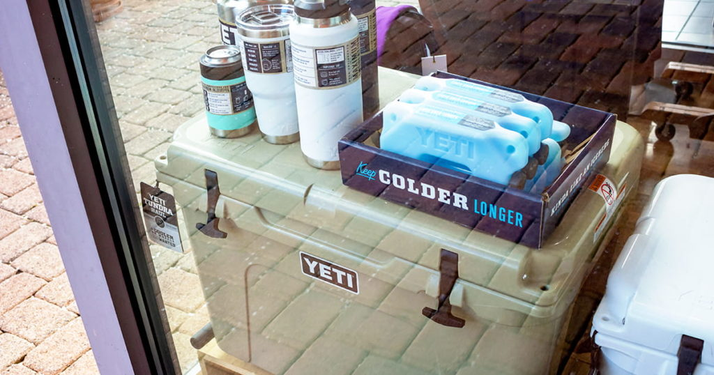 YETI cooler products