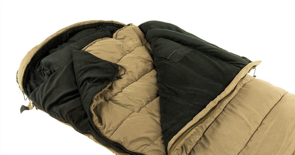 Warm sleeping bag layers