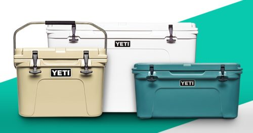 Yeti hard coolers different sizes