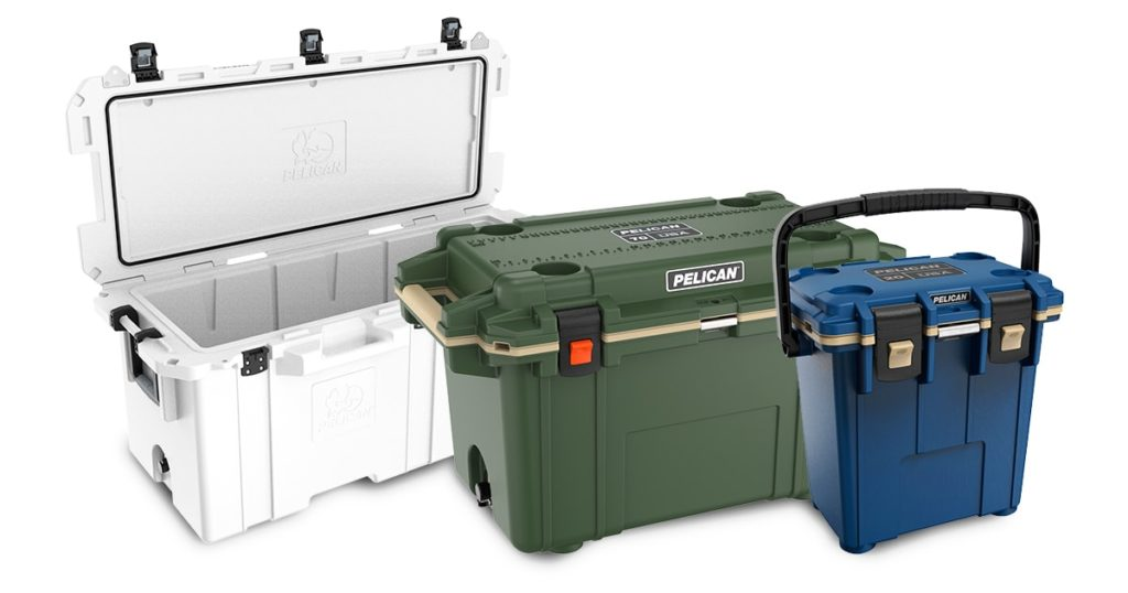 Pelican hard coolers