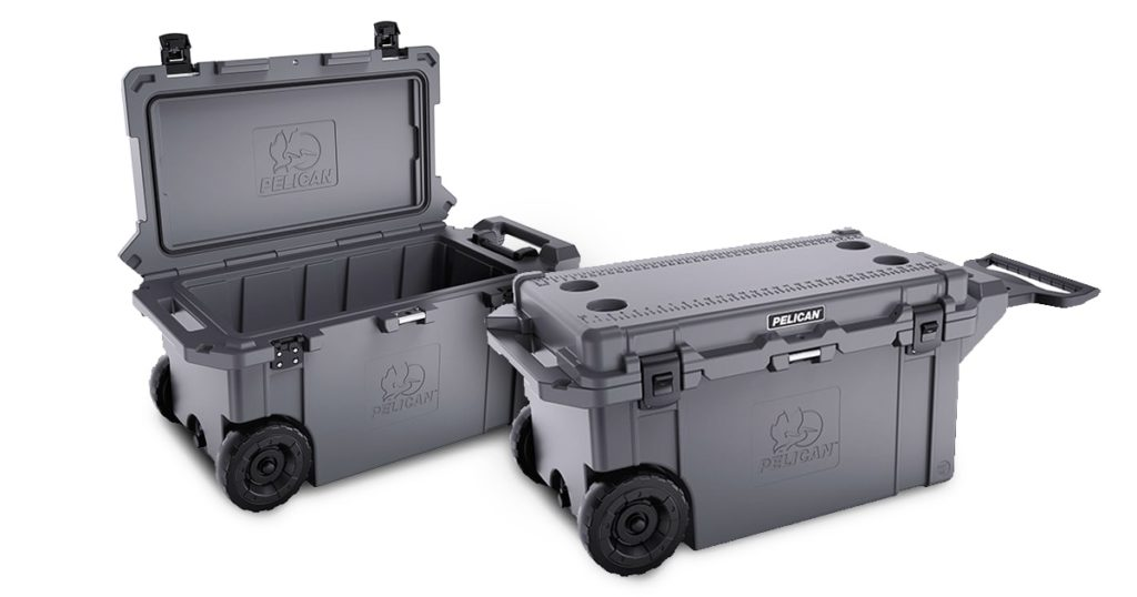 Pelican wheeled coolers