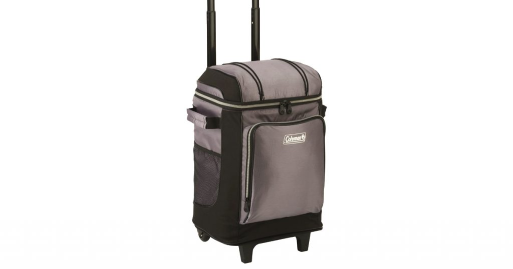 Coleman soft cooler with wheels