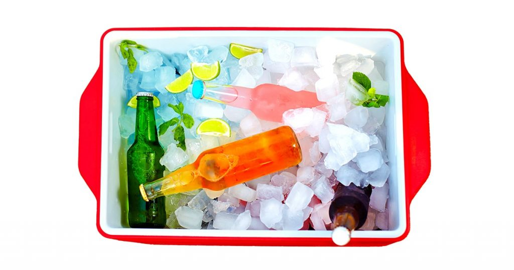 chilled-colorful-beverages-ice-box-summer