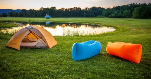 Air couch camping 2