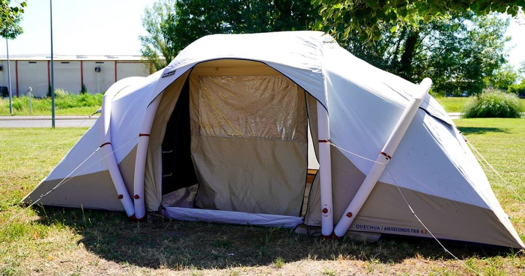 tourist camping tent inflatable new model
