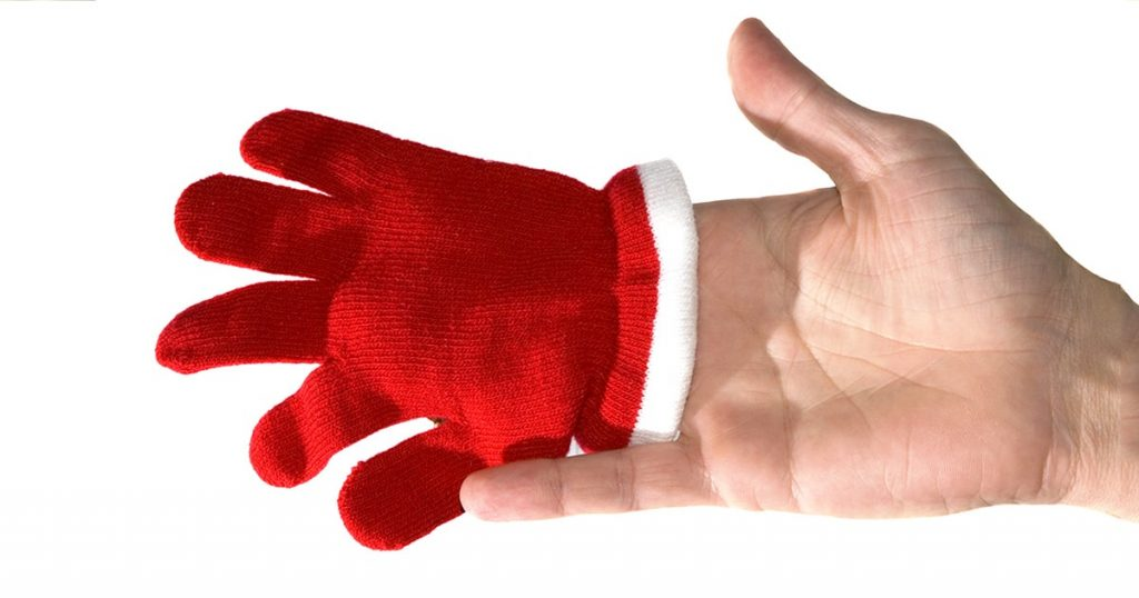 gloves size matters